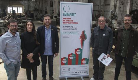 La presentació del festival, que compta amb un pressupost de 23.000 euros, va tenir lloc ahir.