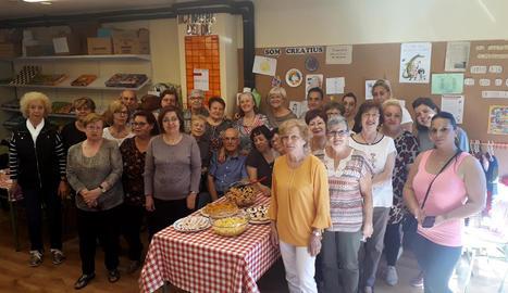 Imatge dels participants del taller a la ciutat de Lleida.