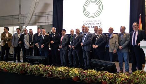 El president de la Generalitat, Quim Torra, ha presidit l'acte de cloenda de l'assemblea de la FCAC.
