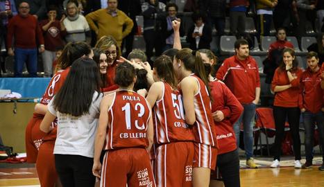 El CB Lleida va acabar la fase regular de Copa Catalunya en quart lloc.