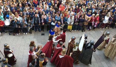 Els moros desafien els cristians a Lleida