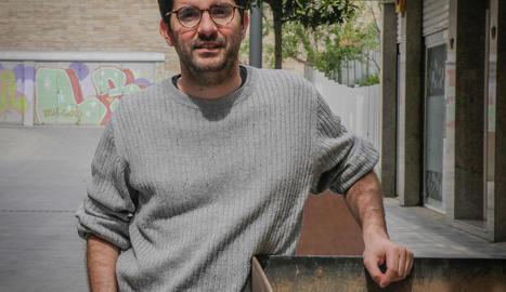 """Marc Artigau: """"Arbeca forma part del meu imaginari infantil i, en l'escriptura, sovint hi vaig"""""""