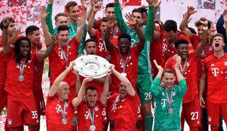 Setena Bundesliga seguida per al Bayern