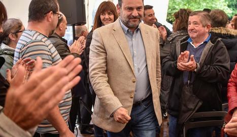 El ministre de Foment en funcions i secretari d'Organització del PSOE, José Luis Ábalos.