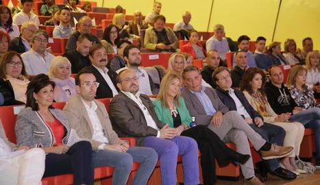 El PP va celebrar ahir a la Llotja el seu acte central de campanya a Lleida.