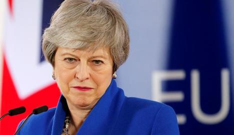 Imatge d'arxiu de la 'premier' britànica, Theresa May.