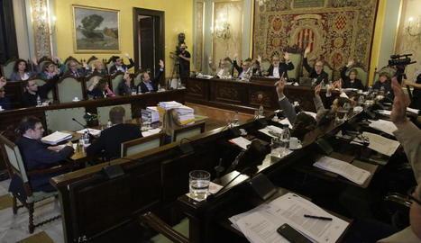L'últim ple de l'actual mandat es va celebrar el dia 3 passat.