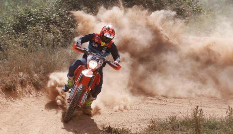 Jaume Betriu aconsegueix la segona posició a l'Estatal d'enduro