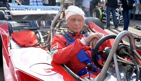 L'expilot Niki Lauda, campió del món en tres ocasions, va morir dilluns a Zuric.