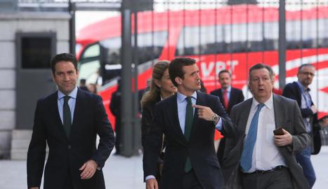 Casado arriba al Congrés amb menys diputats del PP de la història.