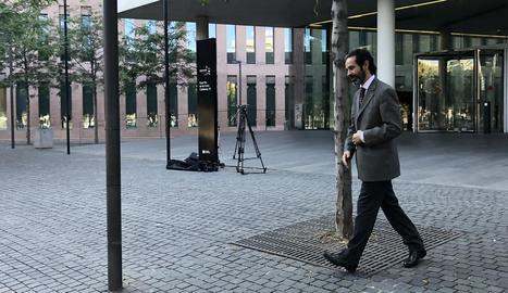 Un dels processats per malversació, Antoni Molons.