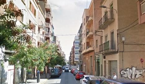 El carrer Alfred Perenya de Lleida.