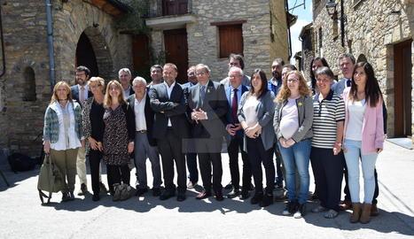 Torra ha participat a Estamariu en el consell d'alcaldes de l'Alt Urgell.