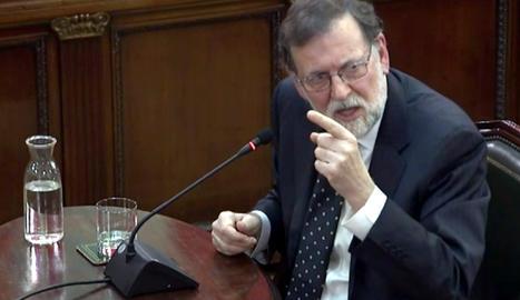El expresident del Govern espanyol Mariano Rajoy, un dels testimonis.