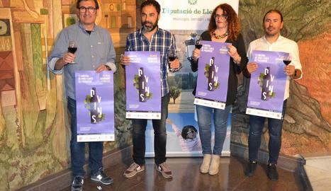 Fins a 24 expositors de vi participen 7a Mostra de Vins i Caves de proximitat d'Agramunt
