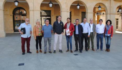 El conseller Damià Calvet va visitar també la reforma del centre.