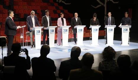 El 'procés' i l'urbanisme animen el debat de les municipals a Lleida