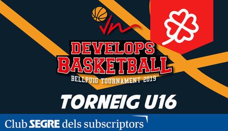 El cartell de la 2a edició del Torneig VM Develops Basketball.