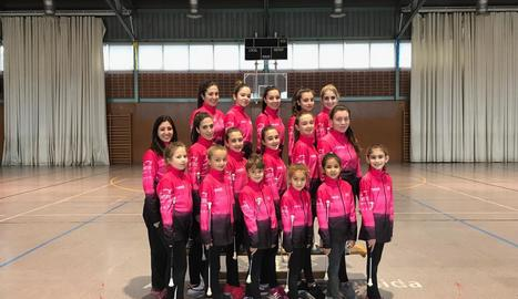 Les components del Club Twirling Magraners