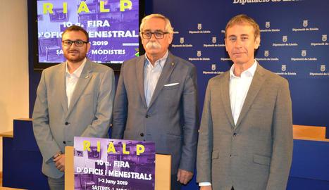 Presentació de la desena edició de la fira artesana de Rialp.