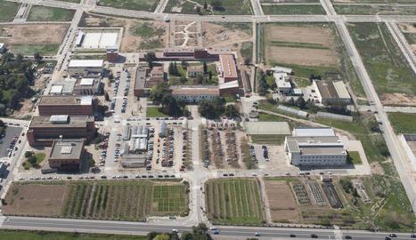 Imatge d'arxiu del campus de l'Escola d'Agrònoms de Lleida.