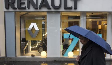 Imatge d'arxiu d'un concessionari Renault a París.