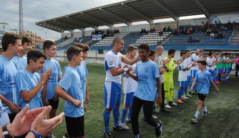 El camp acull diferents competicions del CFJ Mollerussa.