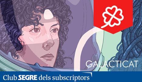 El cartell de la VI edició del Galacticat, la Mostra de Cinema Fantàstic i de Terror de Ponent.