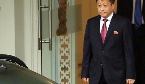 Imatge de l'exambaixador de Corea del Nord a Espanya.