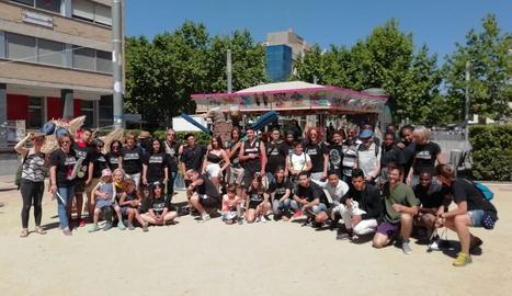 L'institut del Castell dels Templers presenta la seua 'bèstia' a Vilafranca