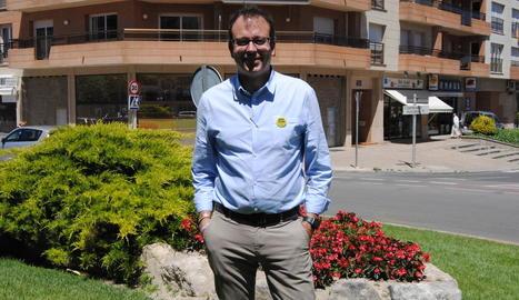 Marc Solsona, alcalde electe de Mollerussa.