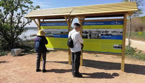 L'Estany d'Ivars i Vila-sana estrena la nova senyalització turística