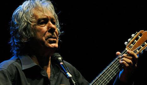 El cantautor Paco Ibáñez.