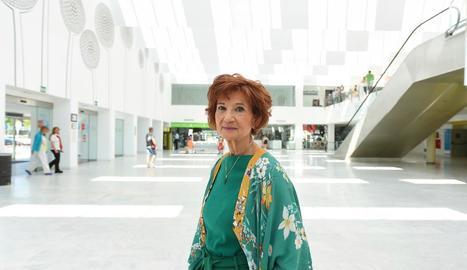 Carmen Villanueva, de 71 anys, va rebre un ronyó fa 50 anys.