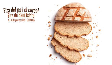 Cartell de la fira del pa de Cervera
