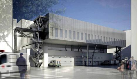 Vista virtual de la remodelació del bloc quirúrgic de l'hospital Arnau de Vilanova de Lleida