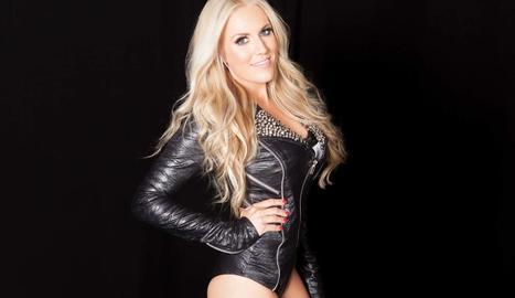 La cantant alemanya Natalie Horler, del grup dance Cascada.