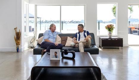 Bertín visita Sanz a Miami