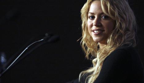 La cantant Shakira.