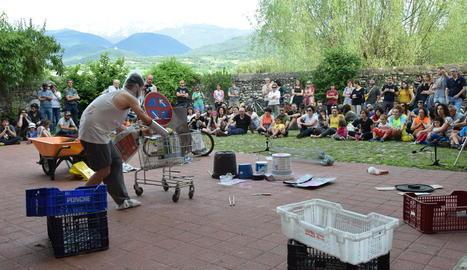 Un dels espectacles de la darrera edició a la Seu d'Urgell.