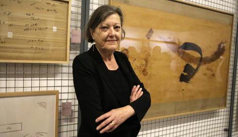 """Cristina Giorgi: """"M'agradaria que, gràcies a l'obra del Benet Rossell, el Museu Morera creixés molt"""""""