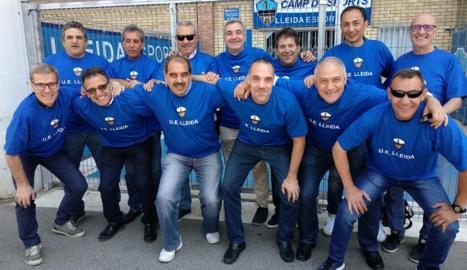 Retrobament d'exjugadors de la UE Lleida dels anys 80 i 90
