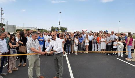La inauguració de la nova ronda nord de Soses.