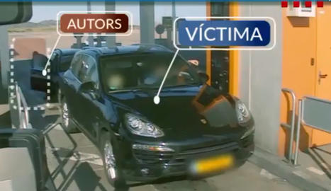 VÍDEO. Els Mossos alerten d'un grup que punxa les rodes a vehicles per robar els conductors
