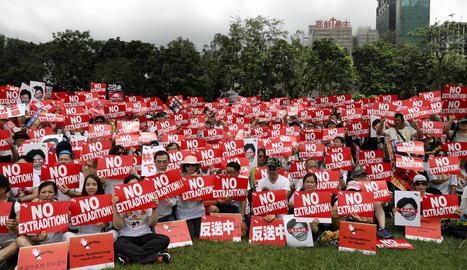 Hong Kong assegura que seguirà endavant amb la llei d'extradició