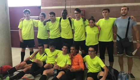 El Torre Vicens, subcampió dels Jocs Esportius Escolars