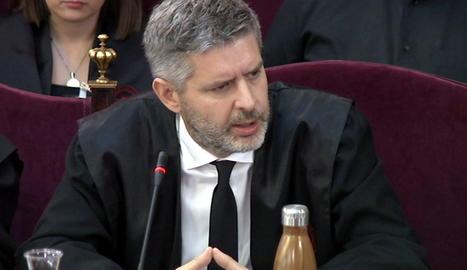L'advocat de Junqueras i Romeva, Andreu van den Eynde.