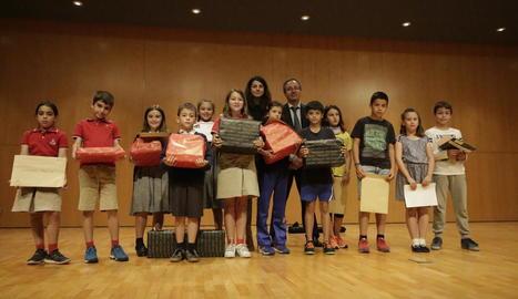 L'acte d'entrega de premis es va portar a terme ahir a l'Auditori Enric Granados de Lleida.