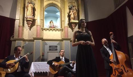Un concert d'una edició anterior del Festival de la Vila de Rialp.