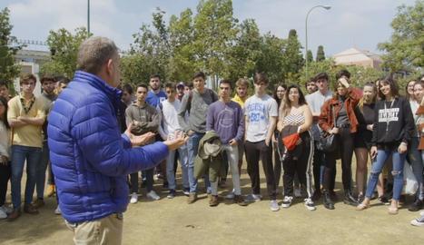 Universitaris de Madrid, Castella-la Manxa i Andalusia han explicat al xef com són els seus menús.